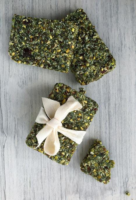 Raw Hemp Algae Bars | Grok Grub | Recipes | Scoop.it