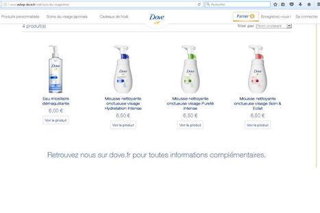 Dove lance un site e-commerce éphémère | Les actus des sites e-commerce | Scoop.it