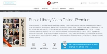 Public Library Video Online: Premium | Reference eReviews, May 1, 2016 | innovative libraries | Scoop.it