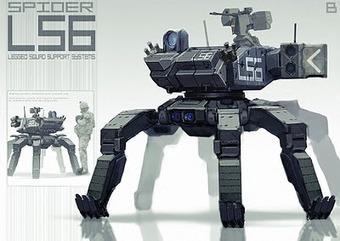 desing - PERPETUAL MOTION: BIG DOG LS3 | VI Geek Zone (GZ) | Scoop.it