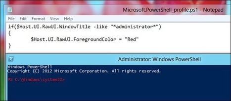 How to Create a PowerShell Profile | PowerShell | Scoop.it