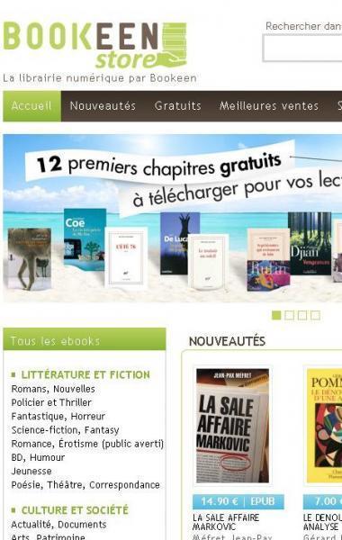 Bookeen lance sa librairie numérique grand public - Actualité littéraire   L'édition numérique pour les pros   Scoop.it