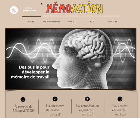 MEMOACTION: Des outils pour développer la mémoire de travail   GESTION COGNITIVE   Scoop.it