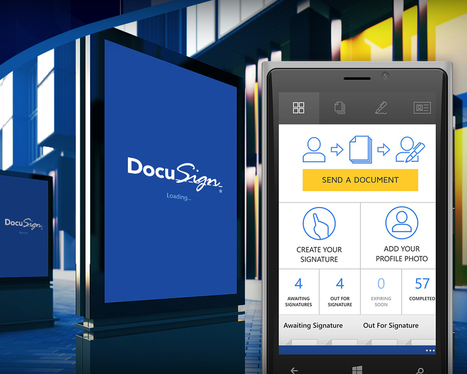 DocuSign for Windows Phone Is For Real | Real Estate Plus+ Daily News | Scoop.it