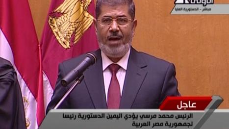 Morsi officiellement investi président | Égypt-actus | Scoop.it