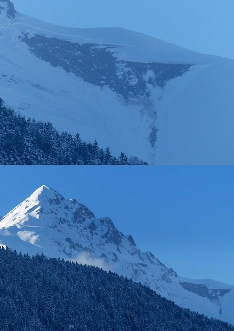 L'avalanche du petit Arbizon est descendue ... | Vallée d'Aure - Pyrénées | Scoop.it