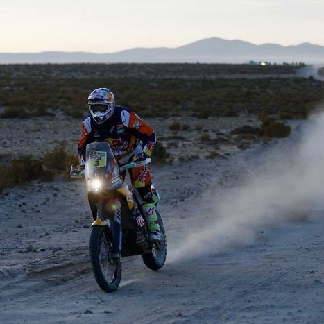 Price's path to the Dakar Rally title | Motorcycle Rider Today | Scoop.it
