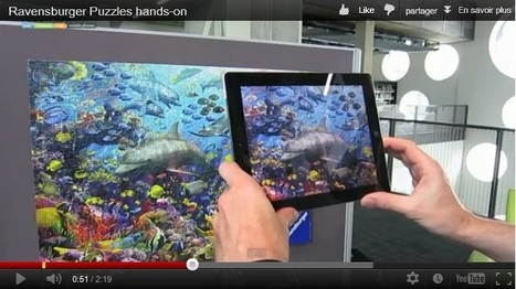 """Ravensburger augmented reality 1000 piece puzzle hands-on   La """"Réalité Augmentée"""" (Augmented Reality [AR])   Scoop.it"""