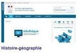 Histoire et géographie - S'approprier les différents thèmes du programme - Éduscol | veille du CDI par discipline | Scoop.it