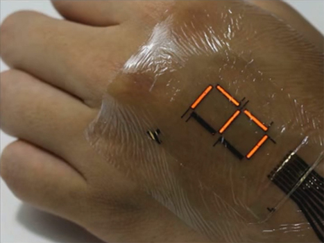 Santé connectée : le patch électronique « E-Skin » veut renouveler la biométrie - CNET France | Veille en Santé et Soins Infirmiers | Scoop.it