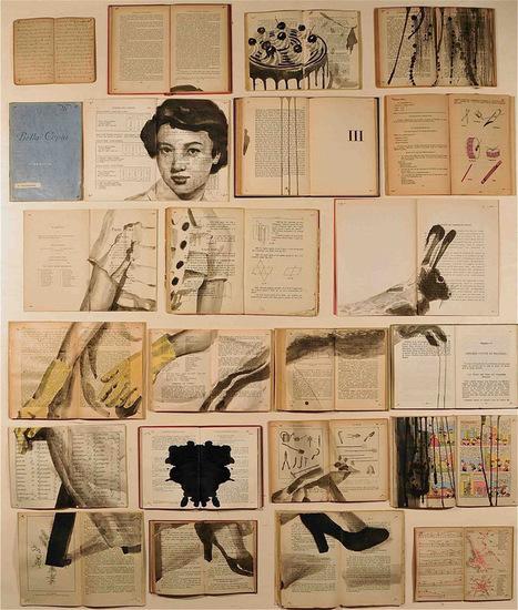 Book Paintings by Ekaterina Panikanova | Interesses com asas e magia que nos liberte do peso rude do quotidiano | Scoop.it