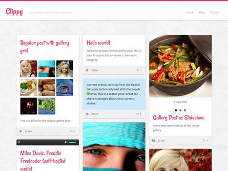 25 Free Responsive WordPress Themes | Javascript | Scoop.it