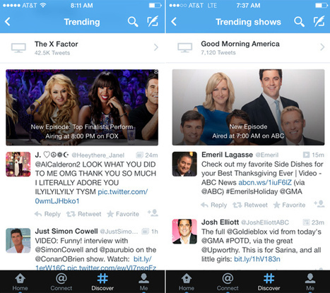 Twitter quietly debuts one of its biggest social TV products to date - Lost Remote | socialTV | Scoop.it