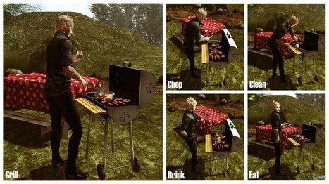 New Release: BBQ Grill by [satus Inc] | Teleport Hub - Second Life Freebies | Second Life Freebies | Scoop.it