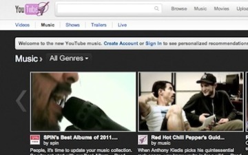 YouTube Relaunches Music Page With Deeper Curation | Curation, Social Business and Beyond | Scoop.it