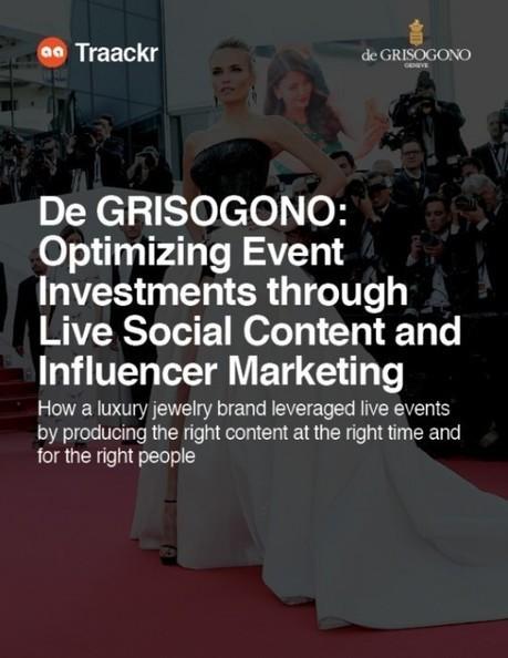 Cas d'étude avec la marque de luxe De Grisogono : Comment amplifier l'impact d'un événement offline avec du contenu digital ciblé ? | Événementiel, Luxe, voyages & Innovations | Scoop.it