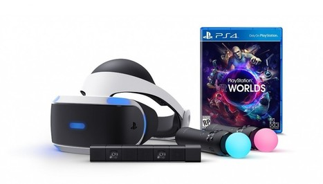 PlayStation VR Launch Bundle Pre-orders Opening at Amazon Today (Update: Sold Out) - Road to VR | 360-degree media | Scoop.it