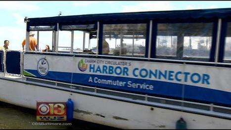 Free Water Taxi Service At Inner Harbor Will Continue Thanks To Grant - CBS Local   Urban Water Transportation - Ferries   Scoop.it