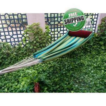 Garden Striped XXL Fabric Hammock Swing | Hammocks in India | Scoop.it