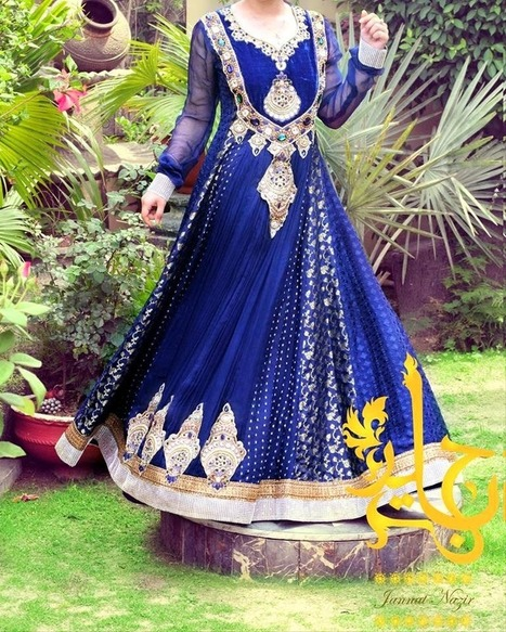 Latest Summer Wedding Wear Collection For Young Girls By Jannat Nazir From 2014 | Women Fashion | Women fashion | Scoop.it