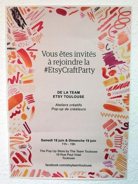 Le Pop up Store Etsy by Etsy Toulouse – Charonbelli's | De tout et de rien : mode, shopping, voyages, cuisine, vide dressing et bons plans | Scoop.it