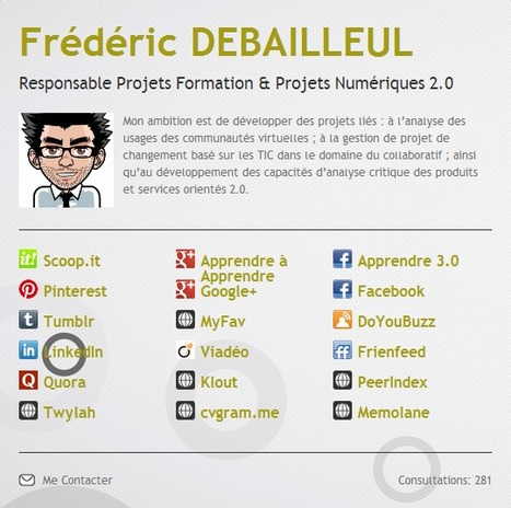 Frédéric DEBAILLEUL's Bio | Time to Learn | Scoop.it