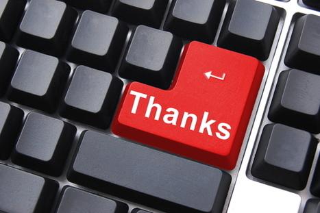 10 manières originales de remercier un blogueur | Autour du Web | Social Media Exploration | Scoop.it
