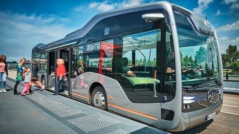 Mercedes-Benz shows off the sleek self-driving bus of tomorrow | Futurewaves | Scoop.it