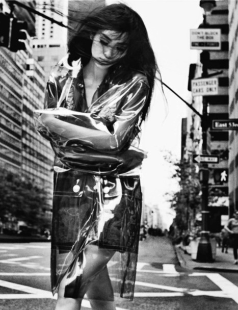[editorial] 'Midtown' |  Liu Wen shot by Txema Yeste for Numéro China 42 September 2014 | Fashion & more... | Scoop.it