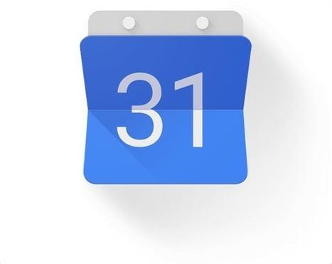 La nouvelle version de Google Agenda disponible au téléchargement | Techno News | Scoop.it