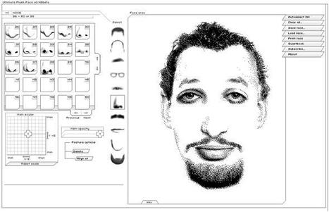 ::: Portraits robots ::: Ultimate Flash Face v0.42b | CRÉER - DESSINER EN LIGNE | Scoop.it