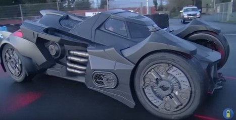 Watch: Real-Life Batmobile Built From A Lamborghini | WTF Posts | Scoop.it