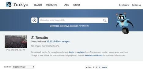 6 outils pour vérifier les images qui circulent lors des crises | Mon Environnement d'Apprentissage Personnel (EAP) | Scoop.it