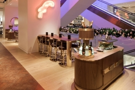 Selfridges Creates Bespoke Cocktail Bar In Their Mens Shoes Department [Pics] - PSFK | Experience Retail | Scoop.it