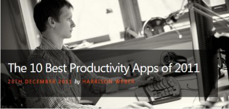 The 10 Best Productivity Apps of 2011   Tech in Education   Scoop.it