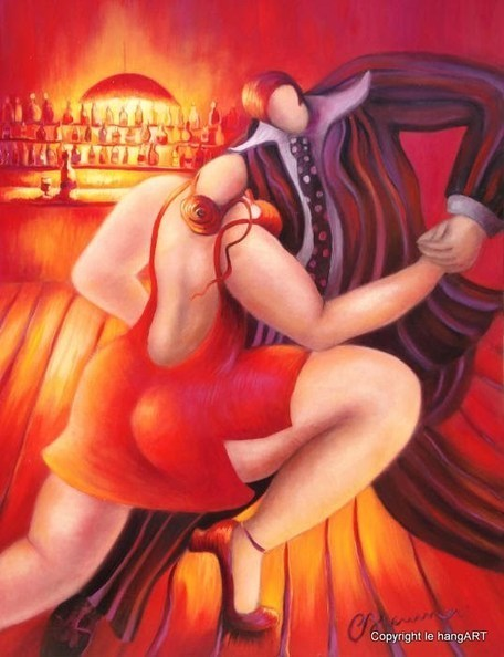 tableau brenner 318 - aventure de tango | Tableaux de C. Brenner | Scoop.it