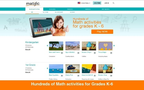 www.matific.com | Web 2.0 for Education | Scoop.it