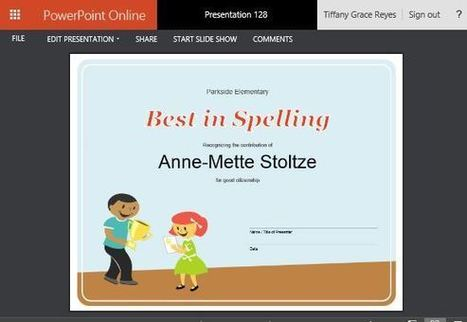 How To Create Printable Award Certificates in PowerPoint   Free Microsoft Word Templates   Scoop.it