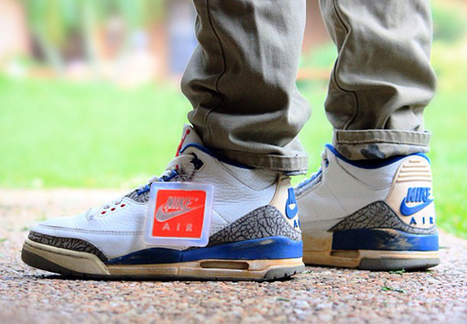Air Jordan 3 True Blue OG (1988) – Hotspot472 (19.06.2013) | sneakers-addicted | Scoop.it