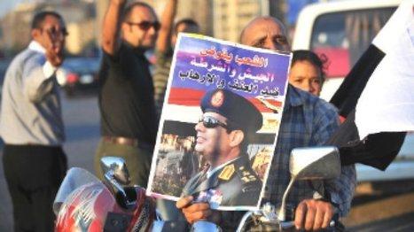 Le général al-Sissi, le dernier fossoyeur en date de la démocratie égyptienne, poussé vers la présidentielle | Bruxelles Méditerranée | Scoop.it