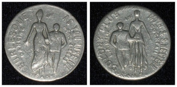Token Payment: Erotic Exonumia | Antiques & Vintage Collectibles | Scoop.it