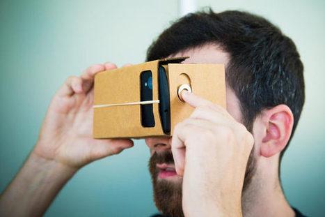 Google Cardboard : un casque Occulus Rift en carton et à $1 ! | Scoop.it Sysico | Scoop.it