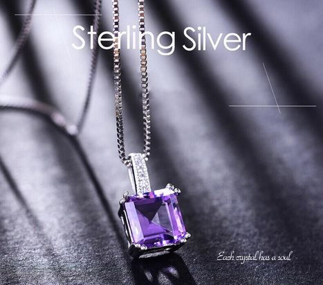 Mysterious Cube-shaped Swarovski Crystal Pendant - DearyBox | Jewellery On-line Boutique Shop | DearyBox.co.uk | Swarovski Crystal Necklaces | Scoop.it