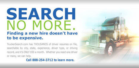 Find Truck Driver Jobs In Logistic Industry | Truck Driving Jobs | Scoop.it