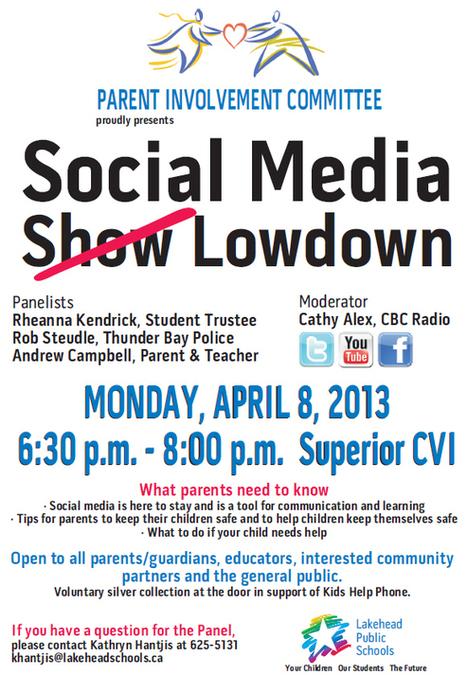 Social Media Lowdown | Lakehead Public Schools | Social Media and Cell Phones in the K12 Environment | Scoop.it