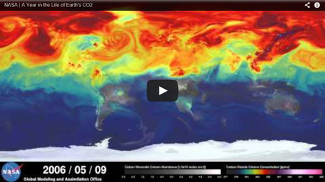 "VIDEO: ""NASA animations show a year in carbon dioxide emissions"" 
