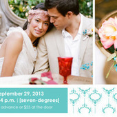 Something Turquoise Wedding Event + A GIVEAWAY | Style Me Pretty | Organizing an Exclusive Wedding Event | Scoop.it