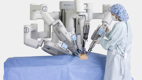 Facing Cancer, With A Robot Surgeon By My Side - WWNO   New Medical Developments   Scoop.it