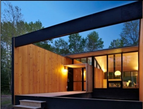 A place in the Woods... | sustainable architecture | Scoop.it