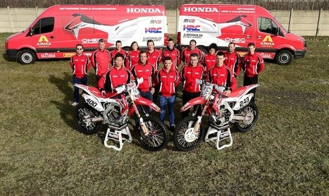 TEAM Honda GARIBOLDI 2014, THE POWER OF DREAMS | MXGP | FMSCT-Live.com | Scoop.it